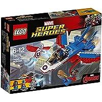 LEGO Super Heroes Marvel Captain America Jet Pursuit 76076 Playset Toy