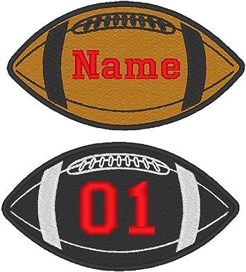Parche redondo para coser, diseño de balón de fútbol bordado ...
