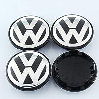 kekchaoran Radkappen für VW, 4 Stück Außendurchmesser, Ersatzfelgendeckel, Felgenkappen, Radkappen