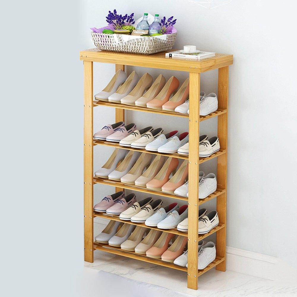 EIDUOシューズラック 5層シンプルな靴ベンチ、100%ナチュラルバンブー製シューズラック収納オーガナイザーホルダー 自宅に適しています (サイズ さいず : 70*28*99) B07DK5DYX5  70*28*99