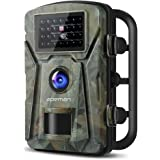 """【New Version】 APEMAN Trail Camera 12MP 1080P 2.4"""" LCD Game&Hunting Camera with 940nm Upgrading IR LEDs Night Vision up to 65ft/20m IP66 Spray Water Protected Design"""