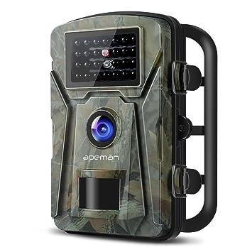 apeman Wild Cámara con Detector de Movimiento 1080P 12 MP INFR arote 20 m visión Nocturna