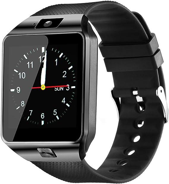 Amazon.com: YIIXIIYN Reloj inteligente DZ09 con pantalla ...