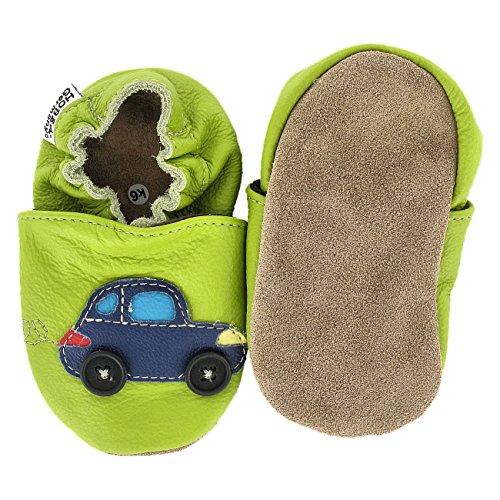 HOBEATractor - Zapatos de Bebé para bebés, unisex Auto mit Ampel
