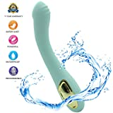 Skin Friendly Silicone Massager,Wireless Cordless