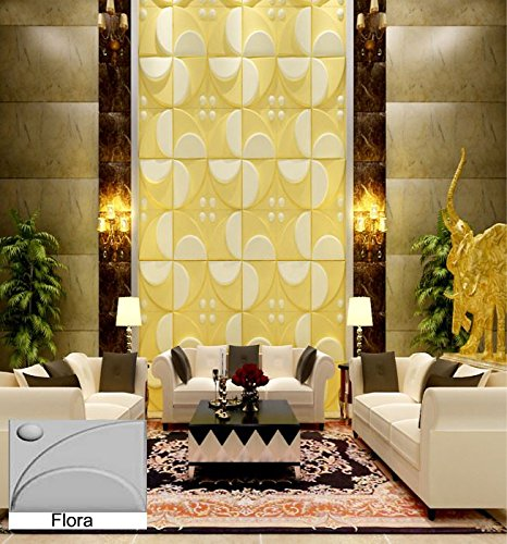Natural Bamboo 3D Wall panel Decorative Wall Ceiling Tiles Cladding ...