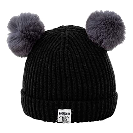 Image Unavailable. Image not available for. Color  Gbell Baby Toddler  Winter Knit Beanie Hat ... b7aa0b71c7ad