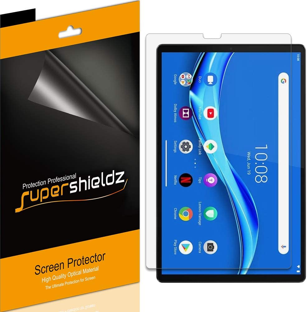 (3 Pack) Supershieldz for Lenovo Tab M10 FHD Plus (2nd Gen) 10.3 inch Screen Protector, High Definition Clear Shield (PET)