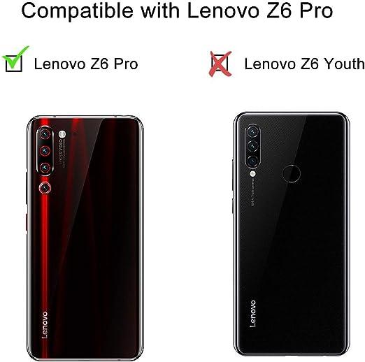 LJSM Vidrio Templado para Lenovo Z6 Pro [5 Piezas] Protector de ...