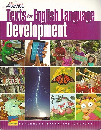 Benchmark Advance, Texts for English Language Development, Grade 1 (2017)