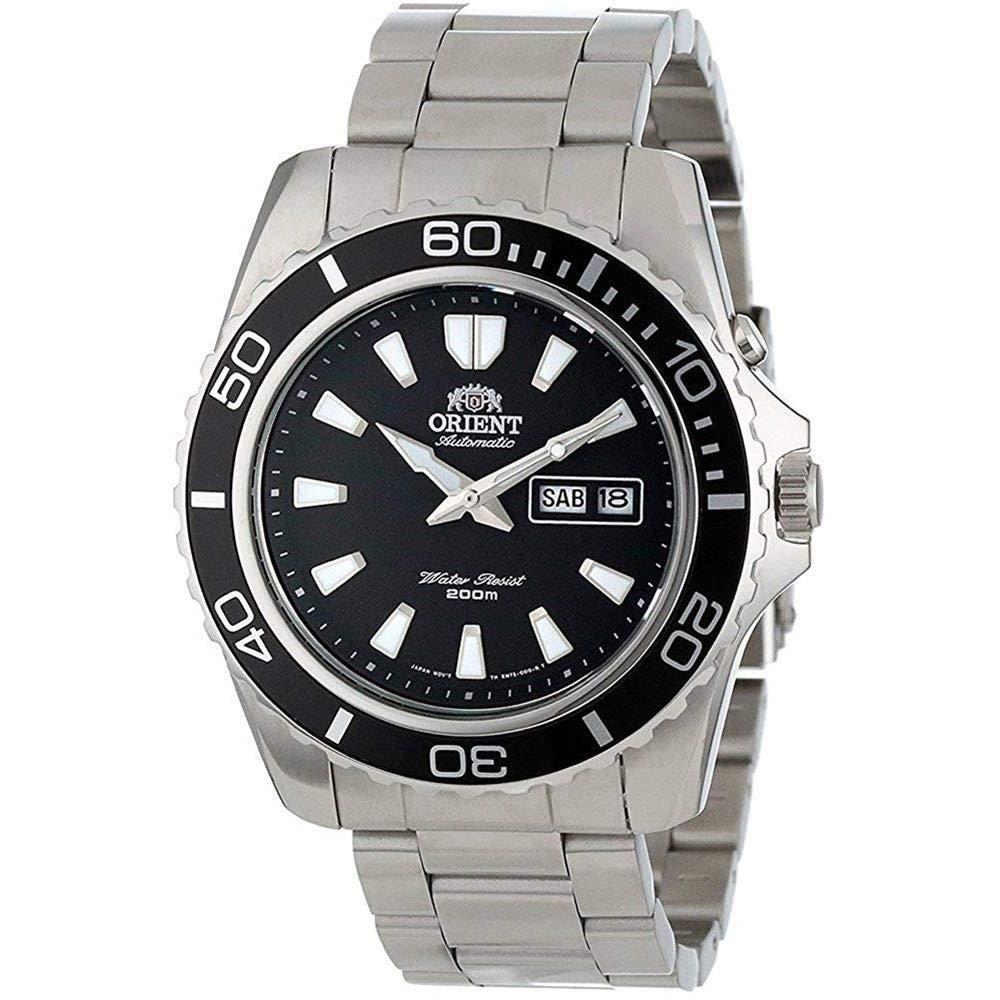 Orient Reloj Analogico para Hombre de Automático con Correa en Acero Inoxidable FEM75001B6