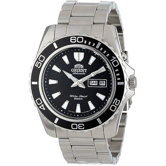Orient Reloj Analogico para Hombre de Automático con Correa en Acero Inoxidable FEM75001B6: Amazon.es: Relojes
