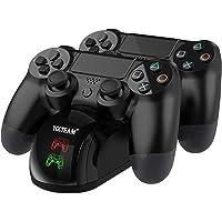 PS4 - Estación de carga dualshock 4 soporte de alimentación para Sony Playstation 4 / PS4 Slim / PS4 Pro mando…
