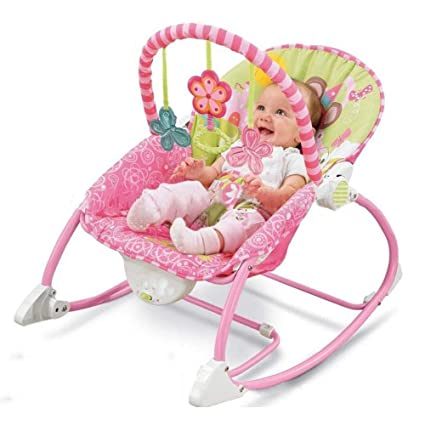Yunfeng Silla Mecedora para bebé Sillón de Masaje Plegable ...