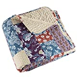 3 pc Quilt Set Cabin and Lodge Santa Fe by Lavish Home- Full/Queen