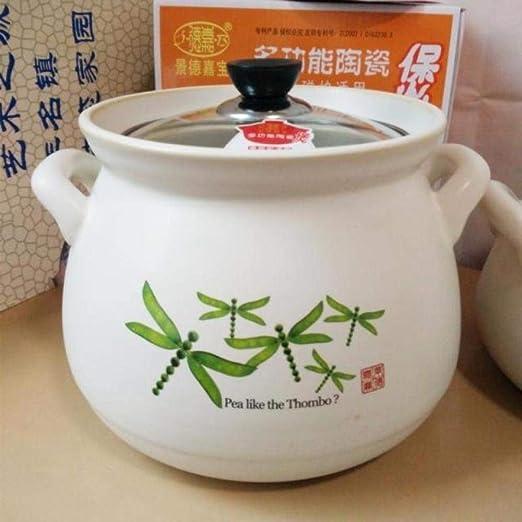 Olla de cerámica Salud Cazuela Sopa Desayuno Leche Gachas de arroz ...