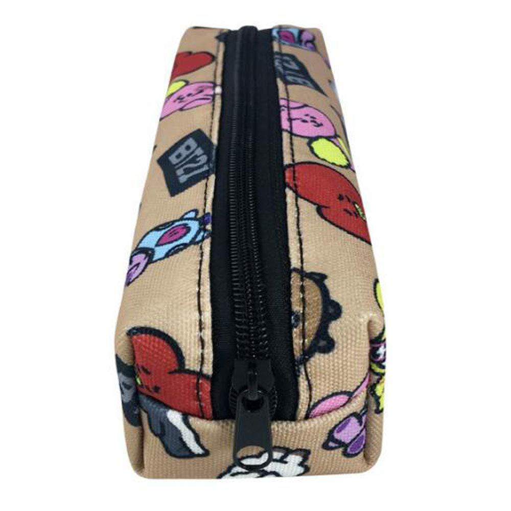 Uns Material para el alumno, Estuche de lápices, Bolsa de útiles Escolares, Estuche de lápices, Billetera (Color : 1#): Amazon.es: Hogar