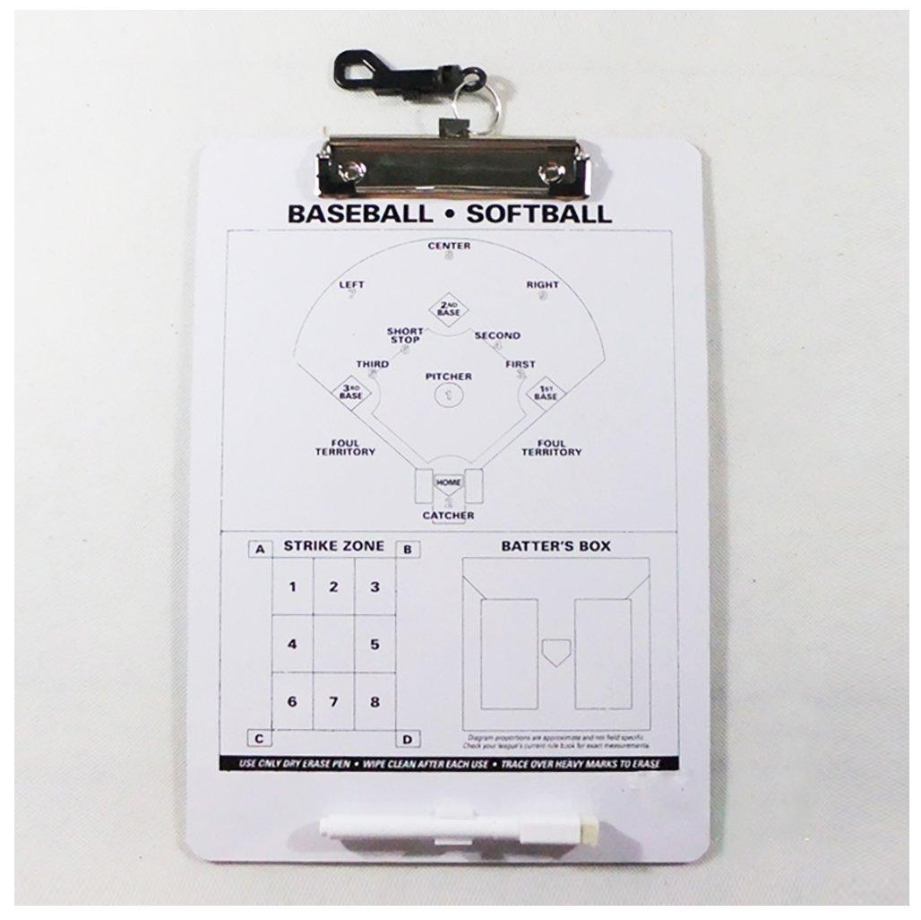 odowalker Baseball Softball Coach Taktik Board Coach 's Schulung Hilfe Match Plan Strategie Notebook Klemmbrett Lamilla