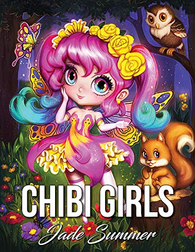 Pdf Crafts Chibi Girls: An Adult Coloring Book with Adorable Anime Characters, Fun Manga Animals, and Delightful Fantasy Scenes for Relaxation