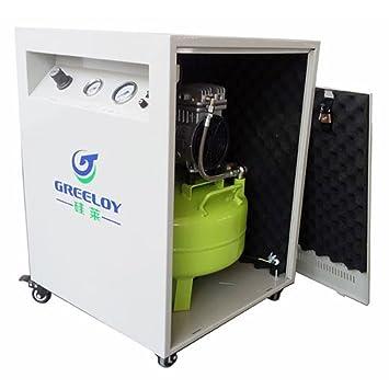 greeoly 24L médica Compresor De Aire motores 600 W para 1pc Dental silla + Secador + Silent armario por superdental: Amazon.es: Bricolaje y herramientas