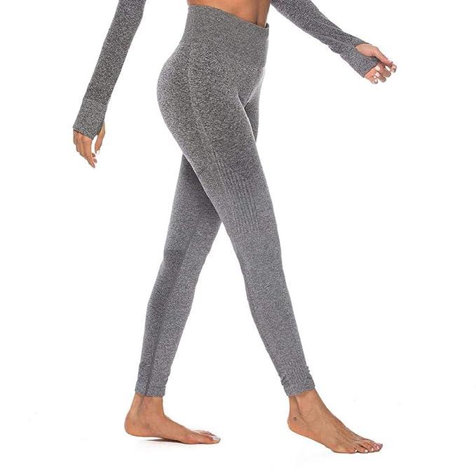 SHOBDW Pantalones Mujer Moda Entrenamiento Gradiente De Color Tie ...