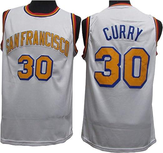 Camiseta De Baloncesto Masculino, Golden State Warriors # 30 Curry ...