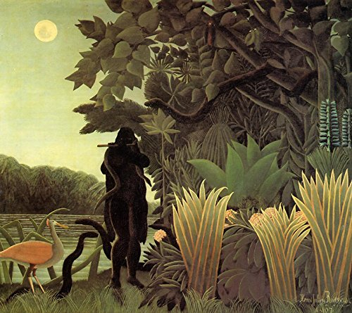 Henri Rousseau The Snake Charmer Musee dOrsay 30