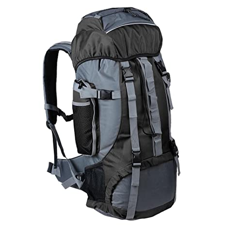 0c4851e892 AW Outdoor 70L Sports Hiking Camping Backpack Travel Mountaineering  Shoulder Bag Rucksack Large Black