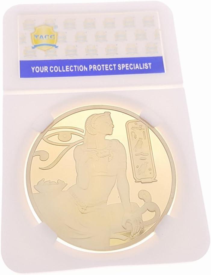 TACC La Coleccionista Moneda Conmemorativa Dinero Oro Dorado Isis ...