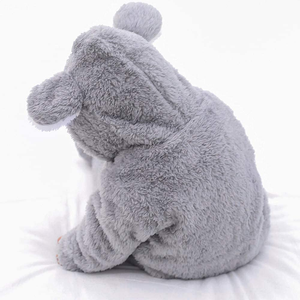 Zhen Unisex Baby Pl/üsch-Overall f/ür 0-12 Monate Junge M/ädchen Samt-Jumpsuit Strampler Einfarbige Bodysuit S/äugling Spielanzug Schlafanzug Outfit Wintermantel