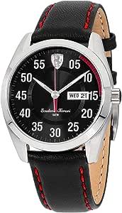 Ferrari Men's 0830173 D 50 Analog Display Quartz Black Watch