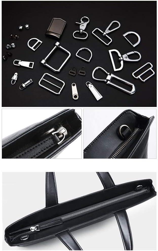 Zhouminli Vintage Leather Tote Briefcase Business Bag High-end Handbag Leather Shoulder Diagonal Cross-Section Computer Bag Casual Backpack Official Mens Bag