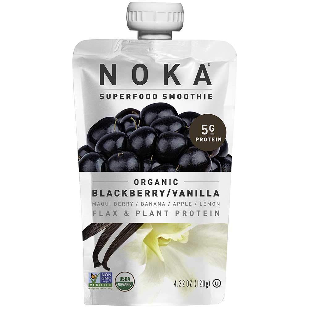 Noka Blackberry Vanilla Superfruit Smoothie, 4.22 Ounce -- 12 per case. by NOKA