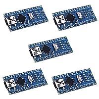 Longruenr Mini Nano V3.0 ATmega328P 5V 16M Micro Controller Board Module for Arduino (KY64-5)