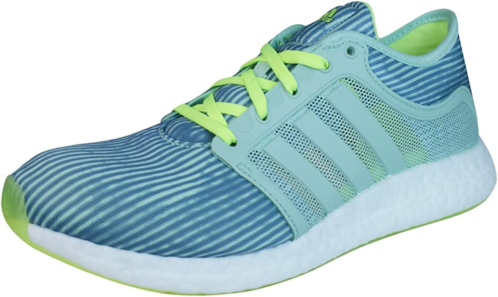 new styles 59fff 1a045 adidas Climachill Rocket Boost Womens Running Sneakers Shoes-Green-5.5