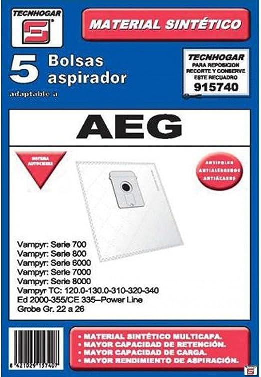 ERSA 915740 Bolsa aspirador, Blanco: Amazon.es: Hogar