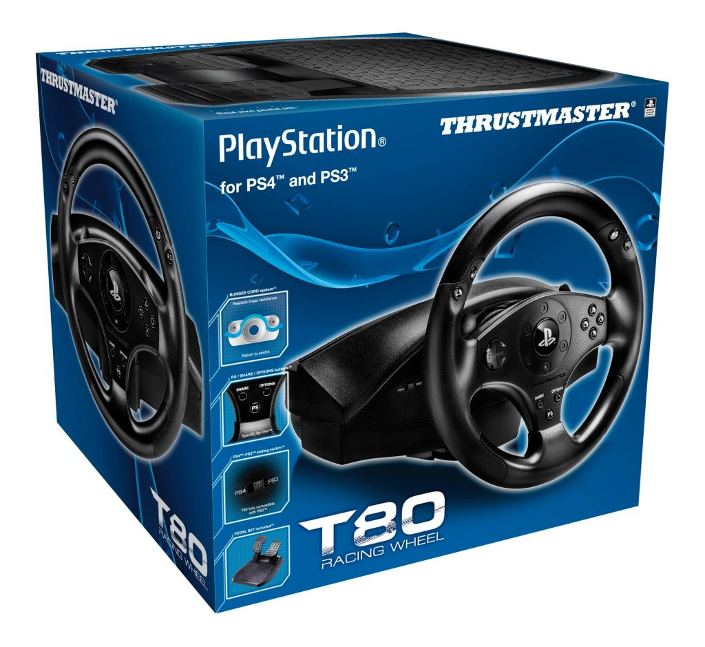 thrustmaster t80 rs ps4 ps3 officially. Black Bedroom Furniture Sets. Home Design Ideas