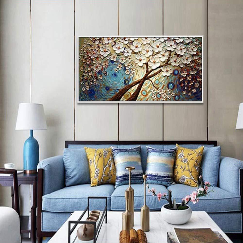 OME&MEI Pintado A Mano Pintura Al Dormitorio Óleo Sin Marco Sala De Estar Pintura Decorativa Dormitorio Al Mesa De Pintura-40X60Cm 7ec231