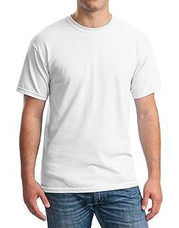 fe7a436ca85 Bigood T-Shirt Coton Homme Haut Tops Manche Courte Col Rond Chemise Blouse  Eté Casual