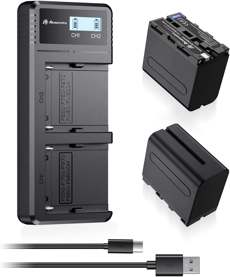 Charger Compatible for Sony DCR-VX2100