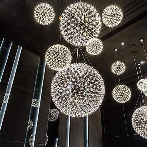 FidgetGear 6W/10W/15W LED Firework Pendant Light Ball-Shape Ceiling Lamp Fixture Canteen 15W(45cm/18) by FidgetGear (Image #3)