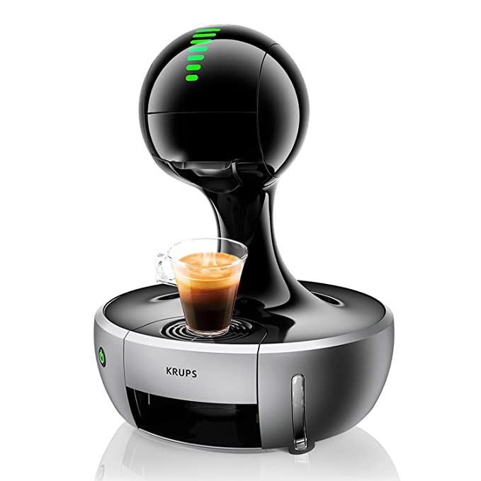 Krups Dolce Gusto Drop KP350B - Cafetera de cápsulas, 15 bares de presión, color negro