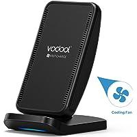 Vodool Wireless Charger mit Lüfter kompatibel zu Samsung/iPhone/Huawei/Nexus/HTC/LG usw.