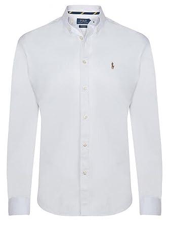 reputable site 9ddf4 00caf Polo Ralph Lauren Herren Hemd Oxford Custom Fit (Blau und ...