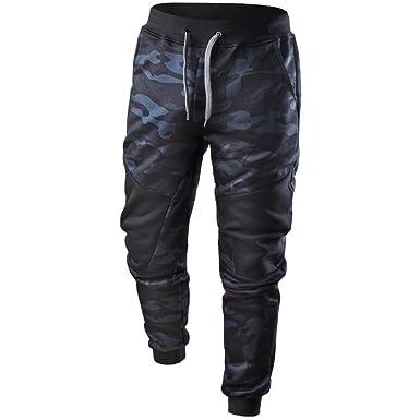 YanHoo Pantalones Deportivos de Camuflaje para Hombre Pantalones de Camuflaje para Hombre Pantalones de chándal de los Hombres Jeans de Hombre: Amazon.es: ...