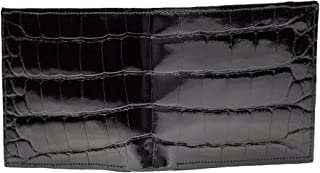 product image for Mens Designer Classic Black Alligator Wallet
