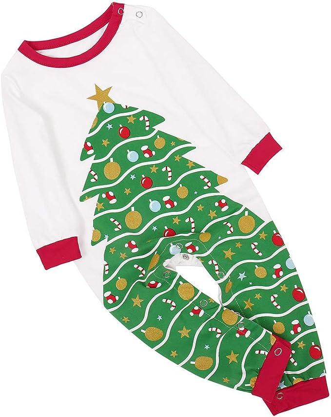 DUOMI Árbol de Navidad Imprimir Traje de Navidad Ropa de ...