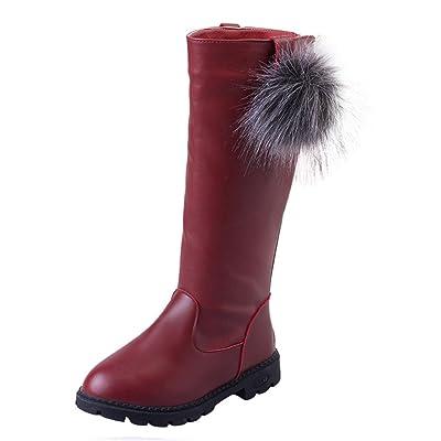 Baby Boots, Hatop New Autumn Winter Bowknot Keep Warm Fashion Children Thickening Girls Snow Boots