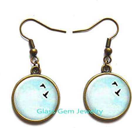 turquoise studs thrush eggs earrings turquoise earrings bird earrings nature earrings brown earrings Bird nest lampwork studs