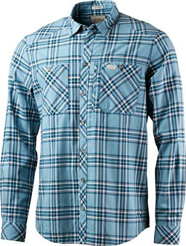 Lundhags jaksa LS – Camisa de Trekking para Hombre, Azul Claro: Amazon.es: Deportes y aire libre